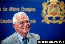 Жозеп Боррель іще як голова МЗС Іспанії перебуває з візитом у Марокко, Рабат, 3 липня 2019 року