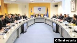 Pamje nga një mbledhje e Qeverisë së Kosovës