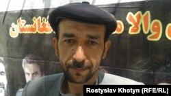 Колишній моджахед Сайєда Касема Музафарі, Кабул, 28 квітня 2015 року
