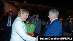 Ангела Меркелдин Кыргызстанга расмий иш сапары.