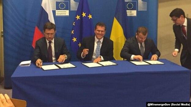Газові домовленості України йРосії щепотребують підписання— Шефчович