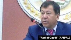 Рамазон Рахимзода, министр внутренних дел Таджикистана.