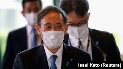 Жапониянын премьер-министри Ёсихидэ Суга.