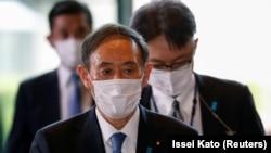 Новый премьер-министр Японии Ёсихидэ Суга