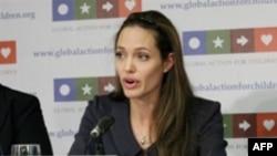 آنجلينا جولی يکی از فعالان عرصه های اجتماعی در زمينه های بی عدالتی و مبارزه عليه فقر است.