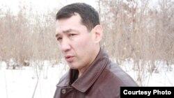 """Нурлан Утеулиев, активист экологического движения """"Табигат""""."""