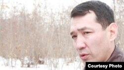 """Нурлан Утеулиев, убитый активист экологического движения """"Табигат""""."""