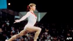 Ольга Корбут на Олімпіаді в Мюнхені, 1972 рік
