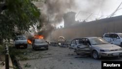 Кабулдағы жарылыстан ондаған адам қаза тапты