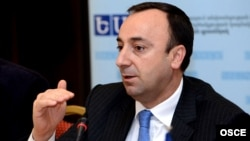 Министр юстиции Грайр Товмасян