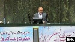 محمد حسن طریقت در صحن علنی مجلس شورای اسلامی- ۲۷ اسفند ۱۳۹۱