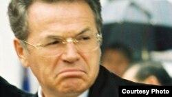 Алматы қаласының бұрынғы әкімі, экс-министр Виктор Храпунов.
