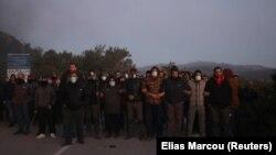 Protest protiv izgradnje migrantskog centra 25. februara na Lezbosu