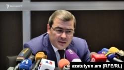 Председатель Комитета государственных доходов Давид Ананян (архив)