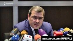 Председатель комитета государственных доходов Давид Ананян