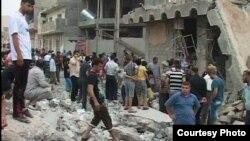 بعد احد التفجيرات في كركوك (من الارشيف)