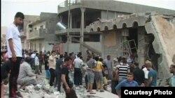 Ірак, Выбух 21 траўня 2013 году
