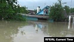Во время наводнения в Крымске