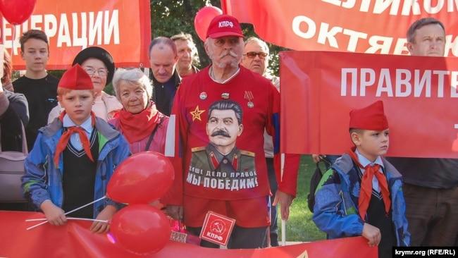 7 листопада 2019 року – день так званої «жовтневої революції». Окупований Севастополь