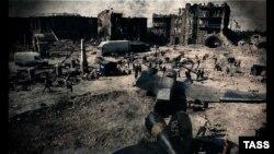Fyodor Bondarchuk-un Stalinqrad filmindən epizod