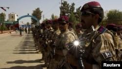 تأمین امنیت شهر لشگرگاه، پایتخت هلمند، از روز چهارشنبه به نیروهای افغان واگذار شده است.