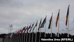 La Vilnius în noiembrie 2013 la semnarea Acordului de Asociere