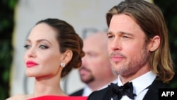 Angelina Jolie və Brad Pitt