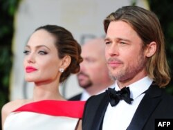 Holivudski glumački par Anđelina Džoli i Bred Pit