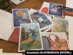 Сказки проиллюстрированы грузинскими художниками