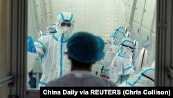 Çində nuklein turşusu testi laboratoriyası