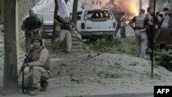 Архивска фотографија: Бомбашки напад во Кабул.