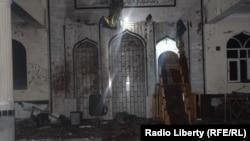Террорлық шабуыл жасалған Дашт-и-Барчи мешіті. Кабул, 20 қазан 2017 жыл.