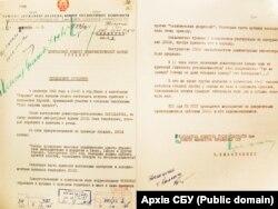 Спецповідомлення КДБ про проведення політичної акції під час прем'єри фільму «Тіні забутих предків», 1965 рік