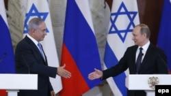 Benjamin Netanjahu i Vladimir Putin u Moskvi, 7. juni 2016.