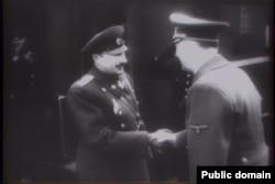 Борис III, царь Болгарии, встречается с Адольфом Гитлером