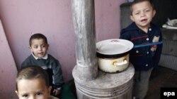 Familje rome në Kosovë