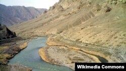 رودخانه ارس مرز ایران و جمهوری آذربایجان
