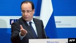Fransa prezidenti Francois Hollande