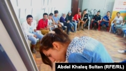 لاجئون سوريون في العراق