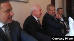 Ленур Ислямов (с), Ринат Закиров, Рефат Чубаров һәм Әхтәм Чигөз