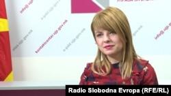 Директорката на Управата за јавни приходи (УЈП), Сања Лукаревска