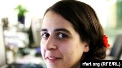 ا هنا کاویانی خبرنگار رادیو فردا بخش ایران رادیو آزادی