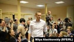 Алексей Навальный в суде в Кирове