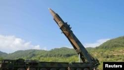 Межконтинентальная баллистическая ракета КНДР