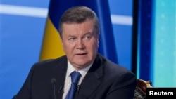 Presidenti i përmbysur i Ukrainës, Viktor Yanukovych.