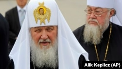 Patriarch Kirill has sent a letter to world leaders asking them to assist followers of Russian Orthodoxy in Ukraine. (file photo)