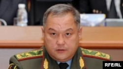 Бактыбек Калыев, Кыргызстандын коргоо министри