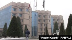 Здание Национального банка Таджикистана
