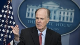 White House national security adviser Thomas Donilon