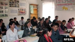 Are Tajik students ready for reading, writing -- and religion?